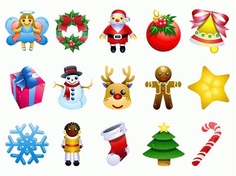 15 Christmas Cartoon Icon Png
