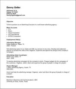 common resume file formats sales marketing resume exles