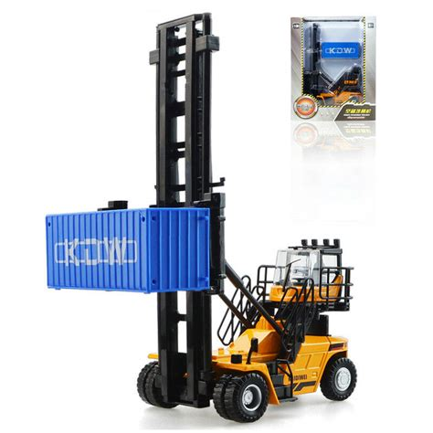 kaidiwei  scale diecast empty container stacker