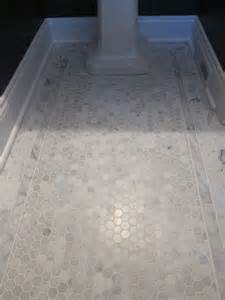 carrara marble hex tile floors 25 best ideas about carrara marble on carrara