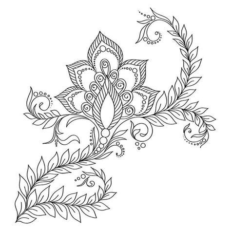 henna schablonen selber machen henna selber machen kunstvolle diy mehndis vorlagen