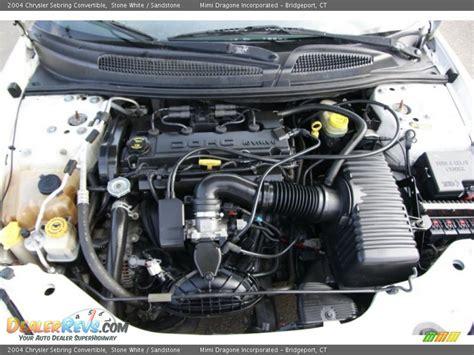 2004 Chrysler Sebring Engine by 2004 Chrysler Sebring Convertible 2 4 Liter Dohc 16 Valve