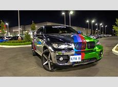 BMW X6 Wrapped in Chrome by Toronto Wraptors YouTube