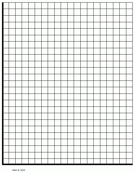 The Gallery For > Blank Coordinate Graph Quadrant 1