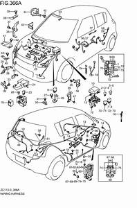 Wire Ring Harness For 2007  Swift Zc71s