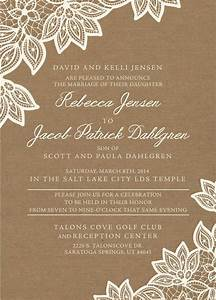 136 best lds wedding invitations images on pinterest With lds photo wedding invitations