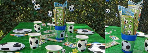 d 233 co de table football anniversaire football d 233 coration foot