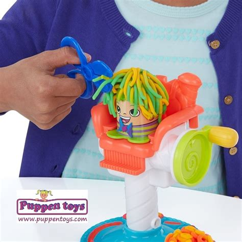 play doh haircut cuts play doh plasticine hasbro juguetes puppen toys