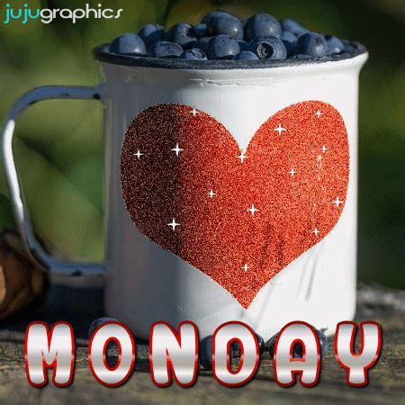 Monday love glitter graphic   Graphics, quotes, comments