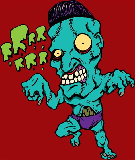 zombie angry insane mad deviantart ghost train