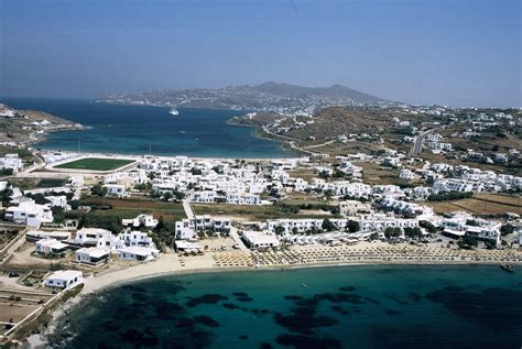 Ornos Beach Mykonos Yiannaki Hotel