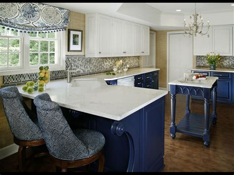island for the kitchen blue and white kitchen designing tips home and cabinet