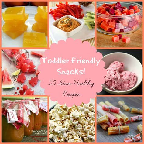 healthy snack recipes for preschoolers snack for toddlers 343
