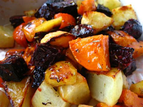 Home Cooking In Montana Roasted Root Vegetables With
