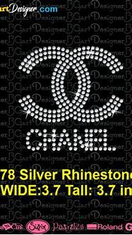 lllᐅ CC Chanel Mini Logo Rhinestone - svg cricut ...