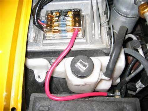 cara membuat dan tips pasang capasitor bank di audio mobil perawatan dan perbaikan mobil