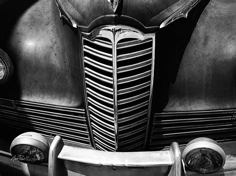 Classic Car Packard Grill Photograph By Ann Powell