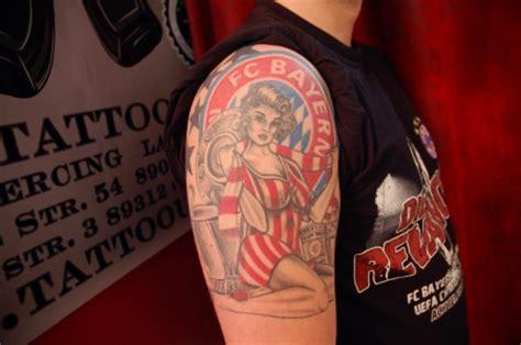 pire fc bayern pin  tattoos von tattoo bewertungde