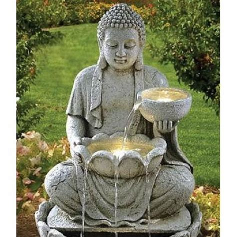 fontaine bouddha offrande achat vente fontaine de jardin fontaine bouddha offrande cdiscount