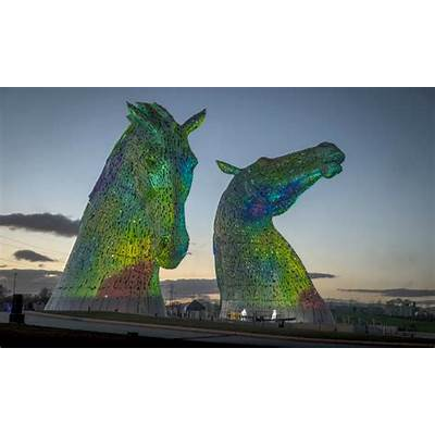 The Kelpies: equine art at Helix a new recreational