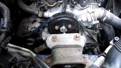 Opel Corsa Waterpump Replacement. 1.2 16v Vauxhall - YouTube