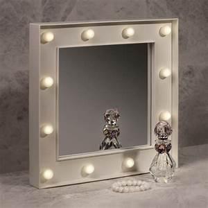 Miroir Hollywood Pas Cher : miroir de maquillage fa on hollywood avec 12 boules lumineuses sur cadeaux et anniversaire ~ Teatrodelosmanantiales.com Idées de Décoration
