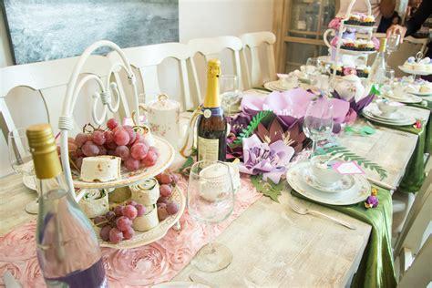 Tea Bridal Shower by Styled Shoot Multicultural Tea Bridal Shower