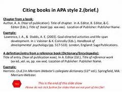 Articles Book DriverLayer Search Engine Apa Style Review Ebooks Apa Style Referencing Textbook Multiple Authors Apa APA Citation Handout 6th Edition BOOKS EXAMPLES
