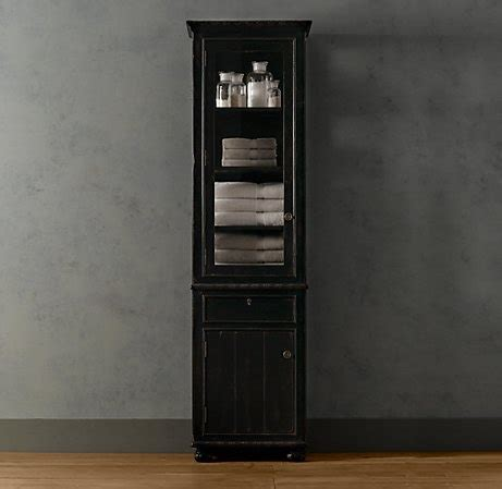 2 tall french empire cabinets master bathroom secondary