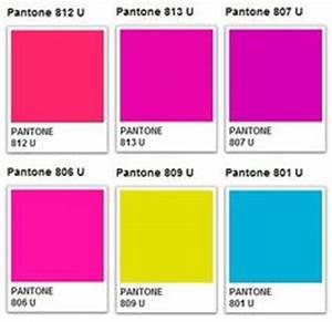 Pantone Neon Color Palette