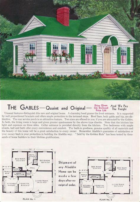 aladdin kit homes catalog  gablesthe gables quaint  original unusual features