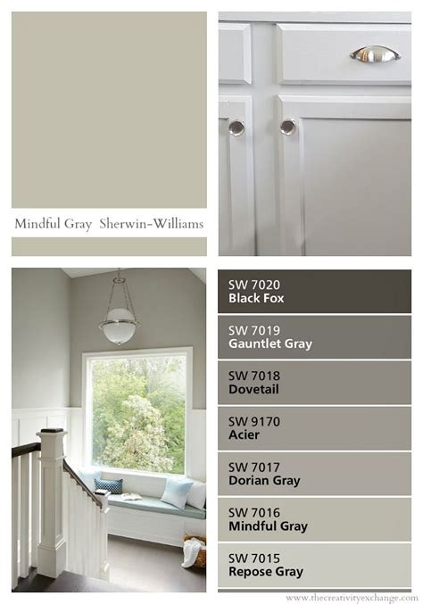 sherwin williams mindful gray color spotlight bhg home