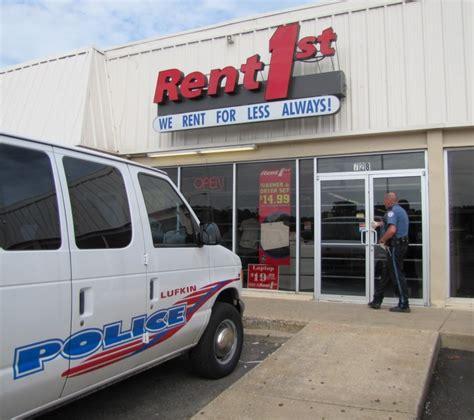 Police Arrest Suspect In Robbery Of Lufkin Rental Store