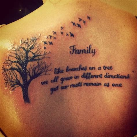 family quotes sayings tattoos