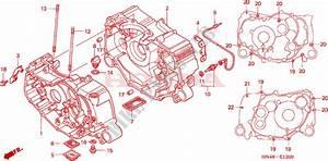 Crankcase For Honda Fourtrax Rancher 350 4x4 Electric