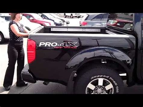 nissan frontier pro   road stk  youtube