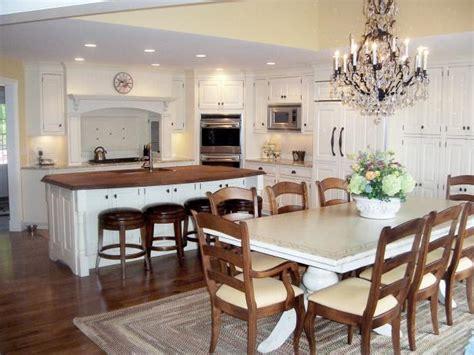kitchen  farmhouse table  elegant  casual hgtv