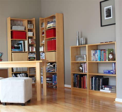 Ikea Bookcases And Shelves by Diy Built In Bookcase Reveal An Ikea Hack Studio 36