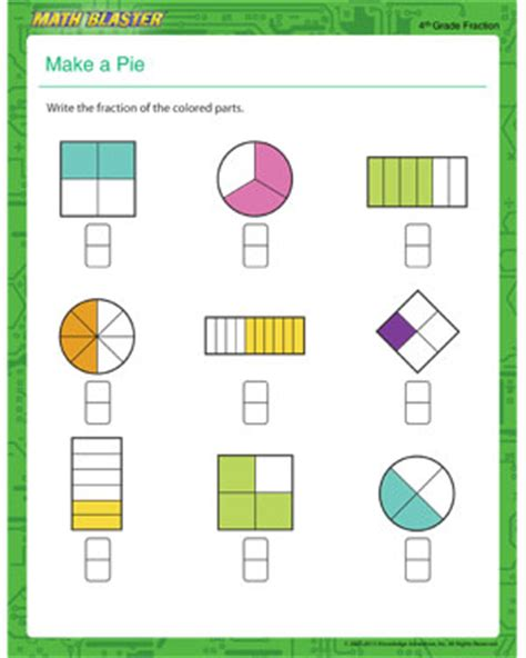 simple math worksheets for 4th graders free printable
