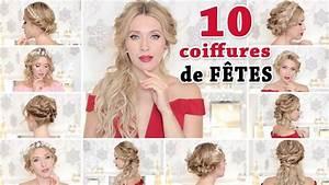 Coiffure Mariage Facile Cheveux Mi Long : 10 coiffures de soiree chic mariage rentree scolaire tuto facile cheveux long mi long ~ Nature-et-papiers.com Idées de Décoration