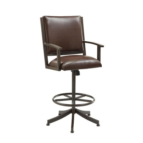 bar stools with arms alpine bar chair bar stools with
