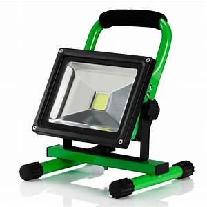 Auraglow w led rechargeable cordless work flood light
