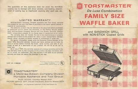 SOLVED: Manual toastmaster grillerie   Fixya