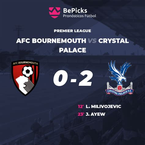 AFC Bournemouth vs Crystal Palace - Predictions, preview ...