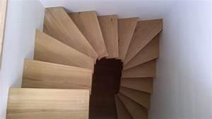 Escalier 3 4 Tournant : escalier 3 4 tournant juillet 2014 menuiserie eb nisterie ~ Dailycaller-alerts.com Idées de Décoration