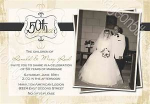 50th wedding anniversary invitations free templates for Free printable 60th wedding anniversary invitations