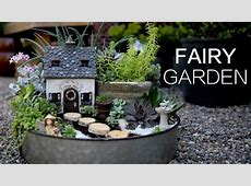 Succulent Fairy Garden YouTube
