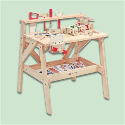 childrens wooden workbench easy diy woodworking kits