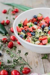 Sommerliche Salate Zum Grillen : salate zum grillen sommerlicher wassermelonensalat mit feta und blaubeeren ~ A.2002-acura-tl-radio.info Haus und Dekorationen