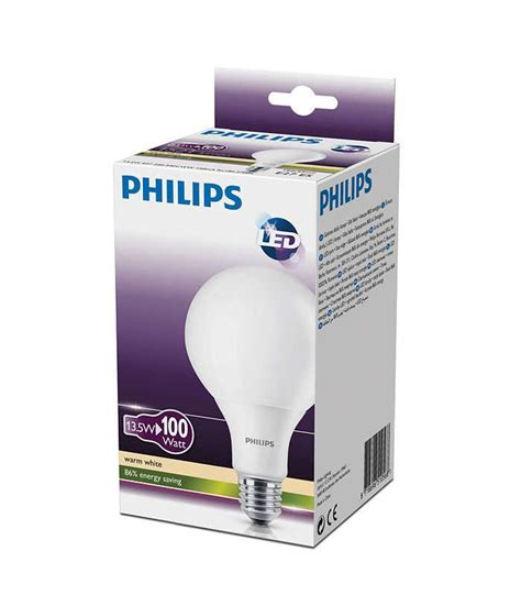 philips led e27 100w philips led globe 13 5 100w 827 230v fr g93 e27